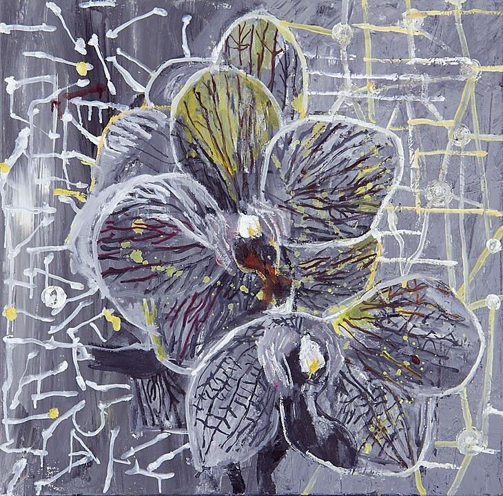 Flor gris No. 2 (2013)