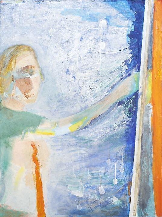 Autorretrato pintando (2010)