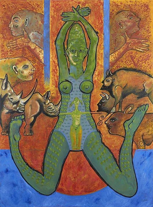 La mujer cocodrilo (2015)