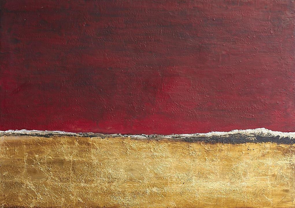 De viajes y soledades 23 (Atardecer rojo) (2013)