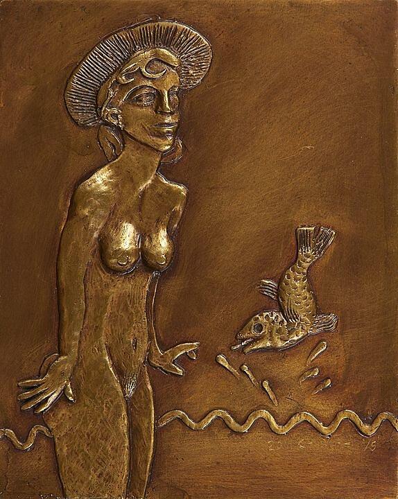 Mujer con pez (2011)