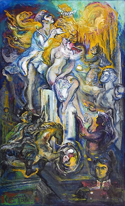 La Toilette de Venus (La güera Rodríguez) (2004)