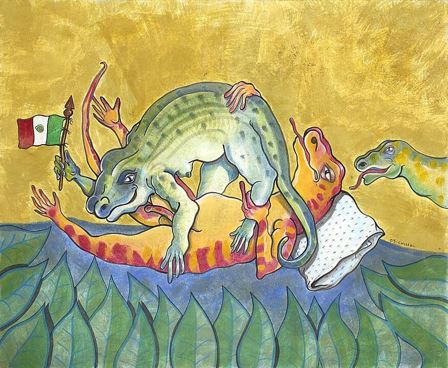 Dos salamandras (2005)