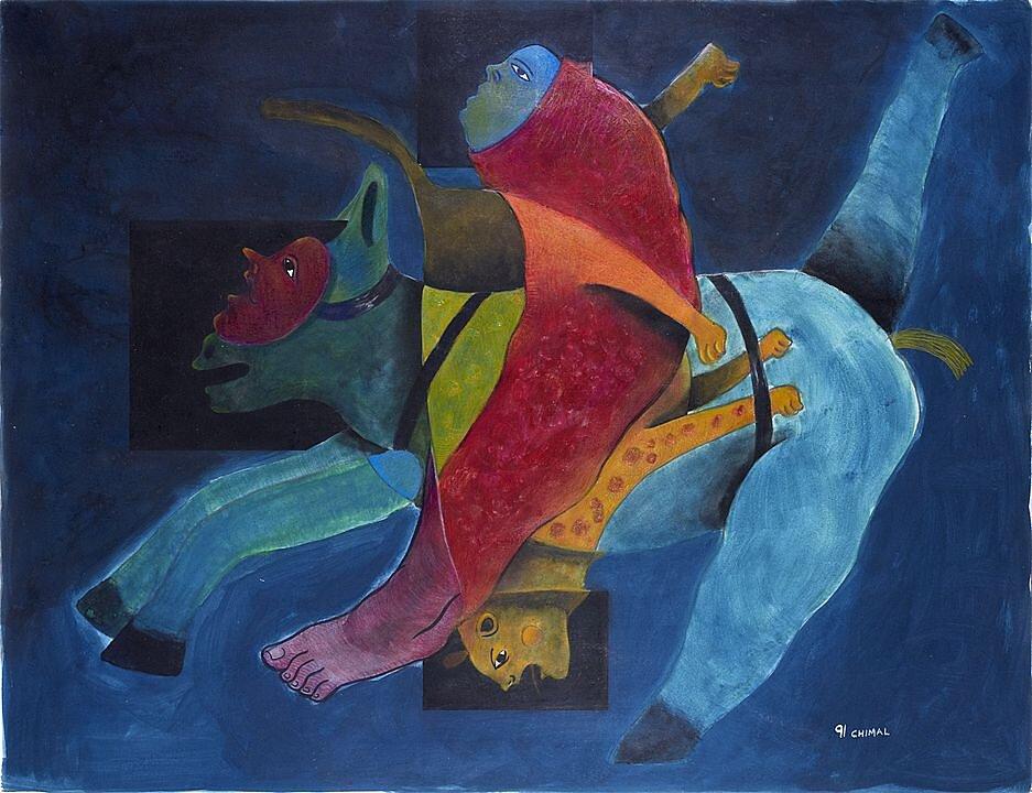 Jinete rojo (1991)
