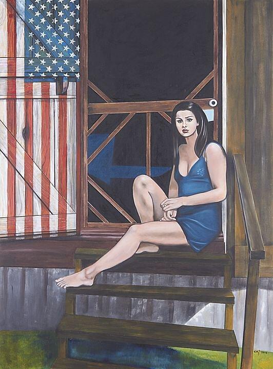 La soledad y la aridez de la vida (George Segal) (2017)