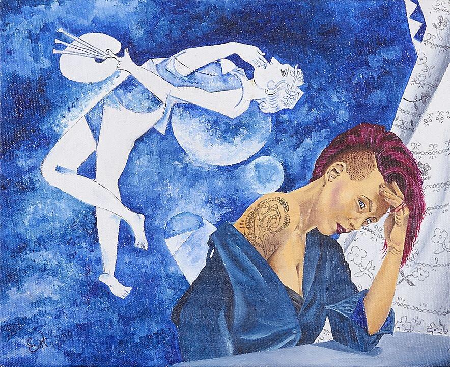 Poema para una piel auscente, Chagall imaginary daughter (2017)