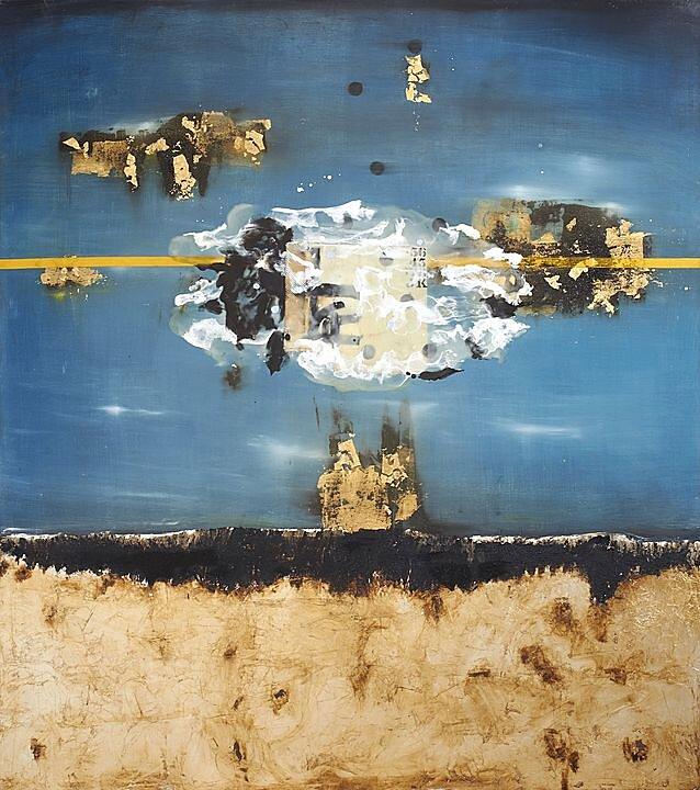 La Odisea que cambia cómo el mar, Mixta sobre madera (2016)