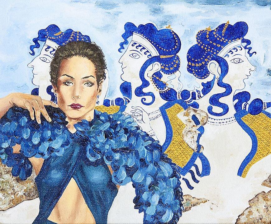 Dama de azul (KNO 5505) (2018)