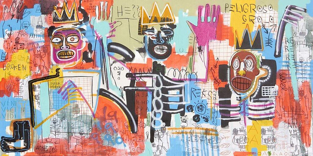 Muecas y gestos de Basquiat (2019)