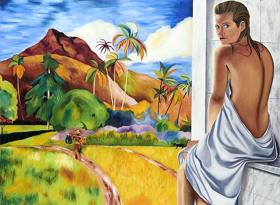 Los Juegos de la mirada (Sienna, Gauguin) (2018)