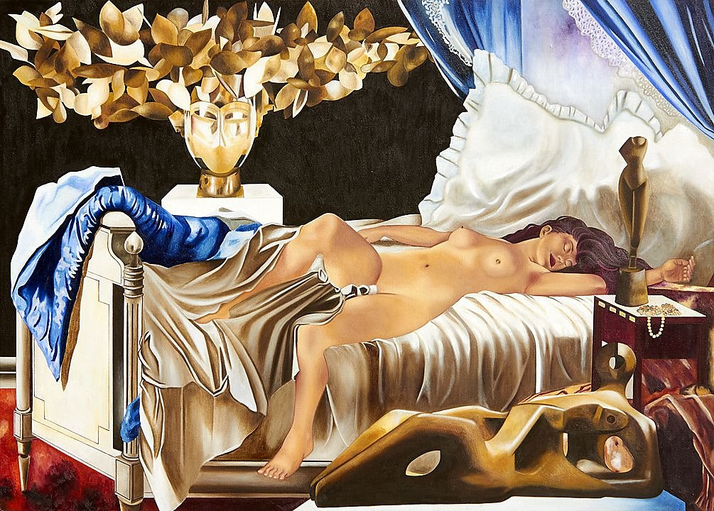La desnudez del sueño (Henri Gervex, Henry Moore, Manolo Valdéz, Oleksandr Arjípenko)(2019)