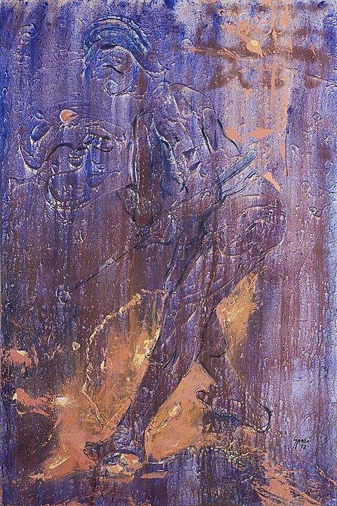 Paleta. tiento y arlequín (2012)