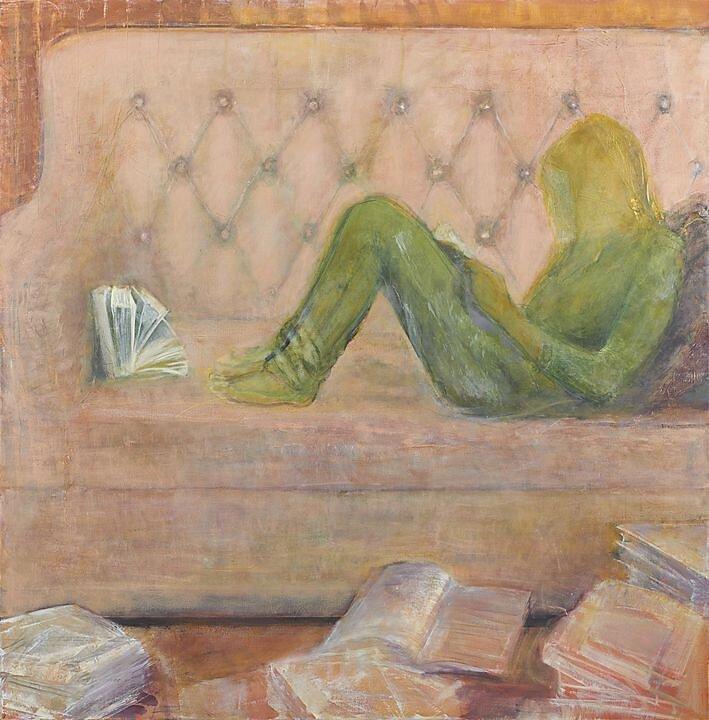En espera leyendo (2014)
