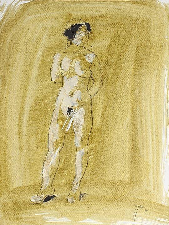 Dibujo Luciano Spanó