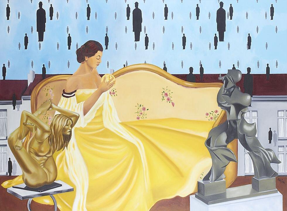 La luz de la magia, Magritte, Mc Gregor, Qunn, Boccioni (2017)