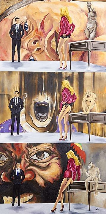 El instante efímero de la censura (B.B. Saville, Bacon y Cade) En cas de Malheur 1958 (2018)