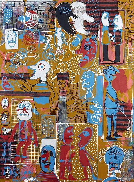 La masa estúpida (Jean Dubuffet) (2018)
