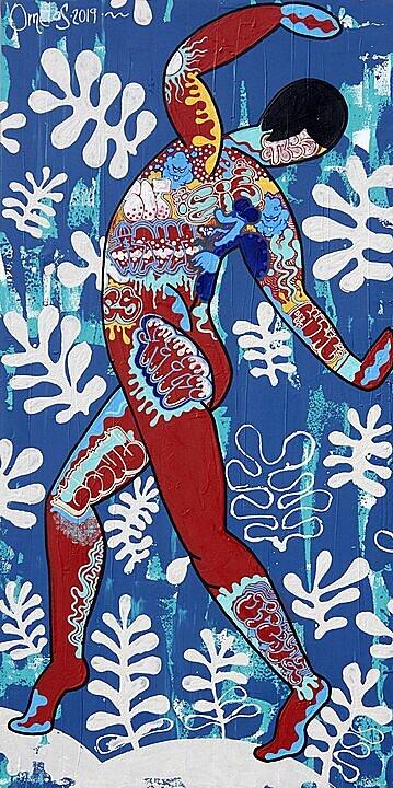 Desnudo en Rojo (Matisse) (2019)
